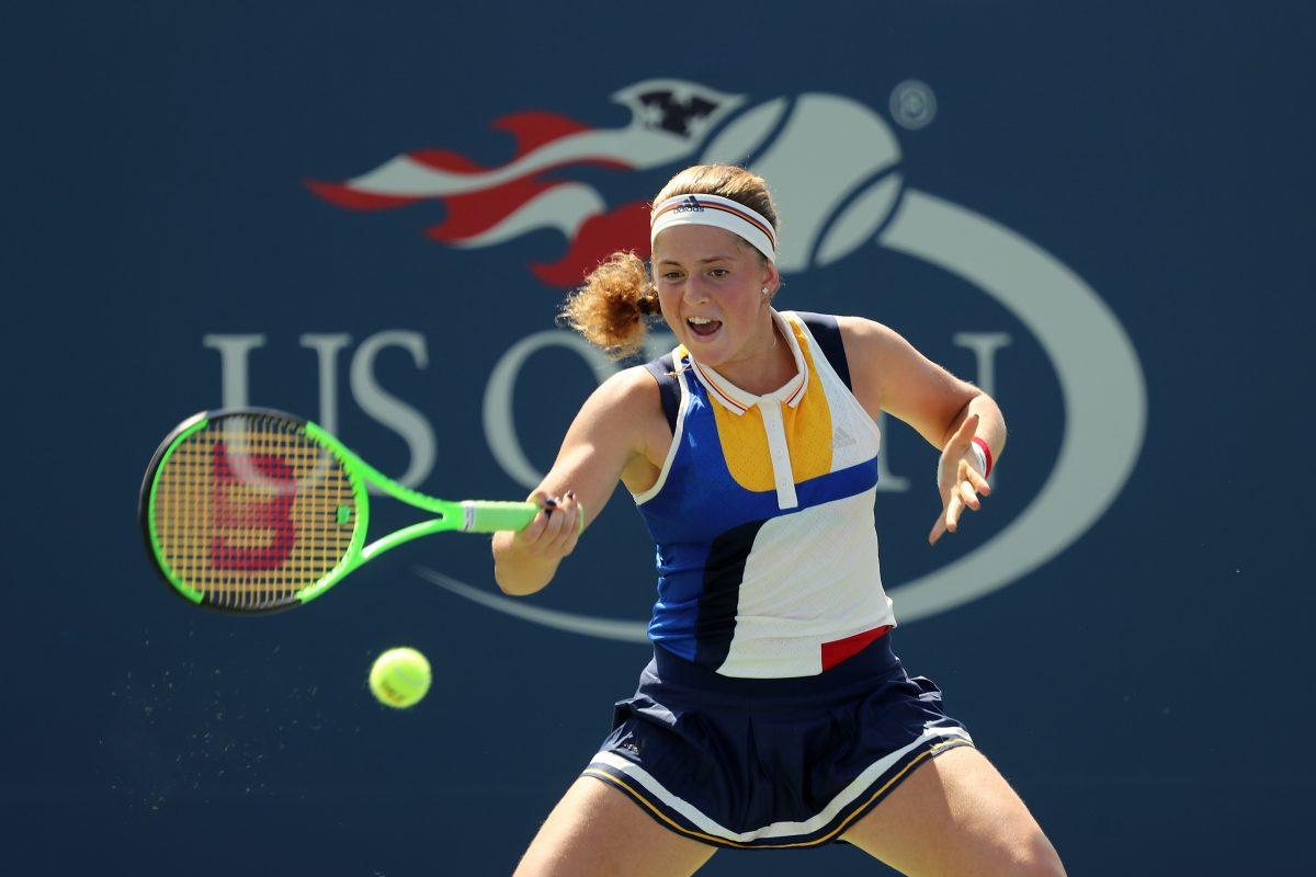 US Open Day 4   Ostapenko reaches third round