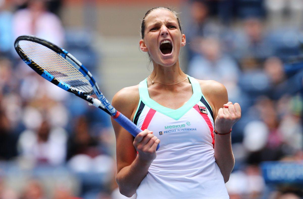 US Open Day 6   Pliskova survives Zhang scare