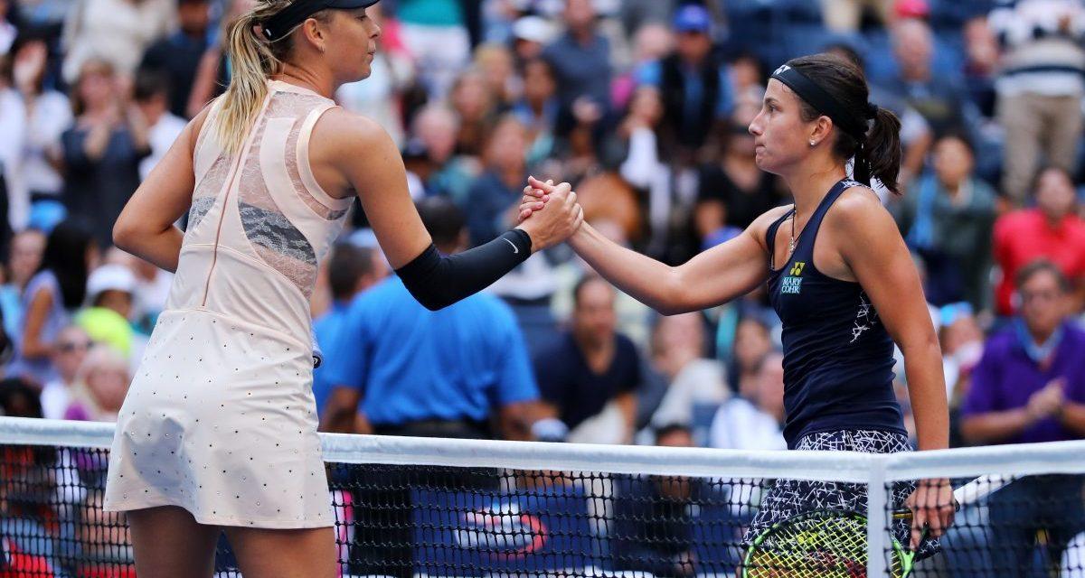 US Open Day 7   Sevastova sends Sharapova packing