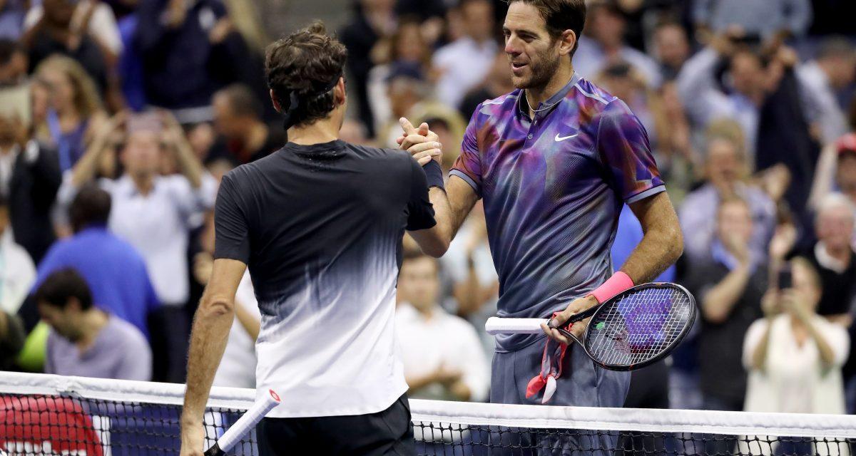 US Open Day 10   Juan Martin del Potro upsets Federer