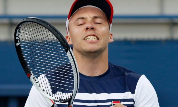 US Open Day 11 | Britain's Andy Lapthorne ends Alcott's unbeaten run