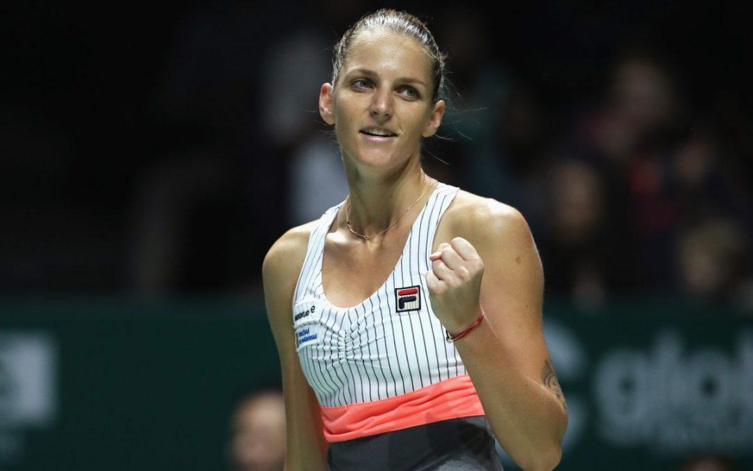 Singapore | Pliskova and Muguruza take early leads