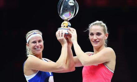 Singapore | Babos and Hlaváčková take doubles honours
