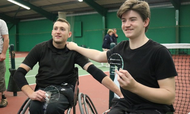 Wrexham | Logan and Smith lift the doubles title in Wales