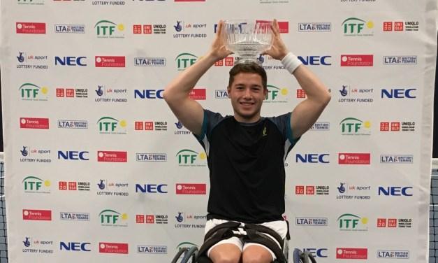 Bath   Alfie Hewett celebrates another big win