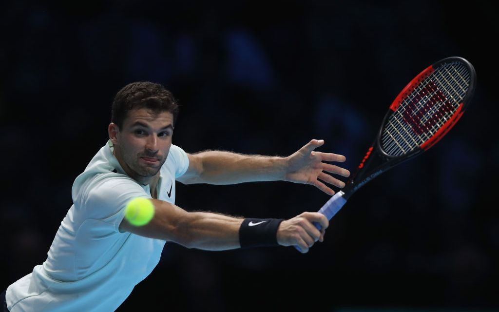 London | Dimitrov turns on the style