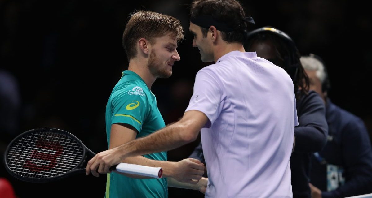 London | Federer toppled by Goffin