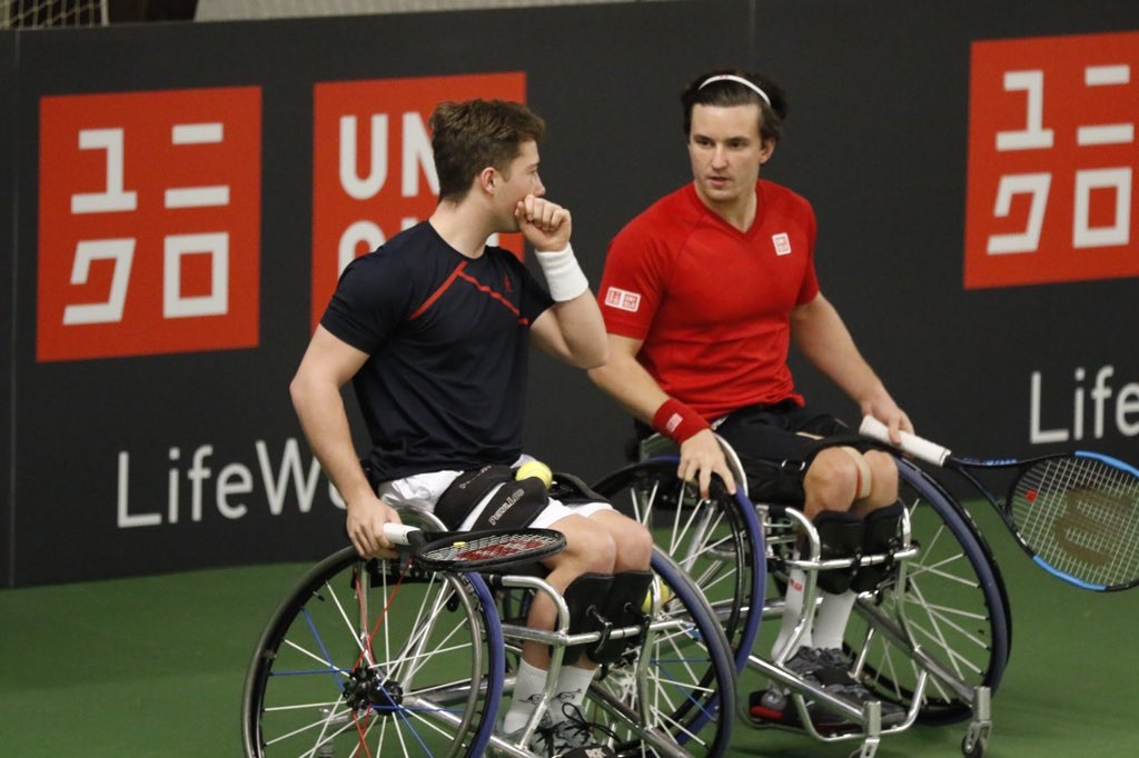 UNIQLO Doubles Masters | Cotterill, Lapthorne, Hewett and Reid remain unbeaten in Bemmel