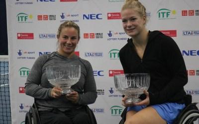 Bath | Shuker and De Groot do the doubles double