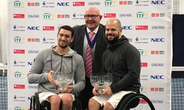 Bath | Another doubles title for Gerard and Olsson