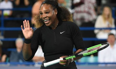 Abu Dhabi | Serena plays exhibition while Anderson takes title