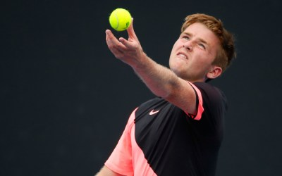 Melbourne | McHugh flies the flag in AO juniors