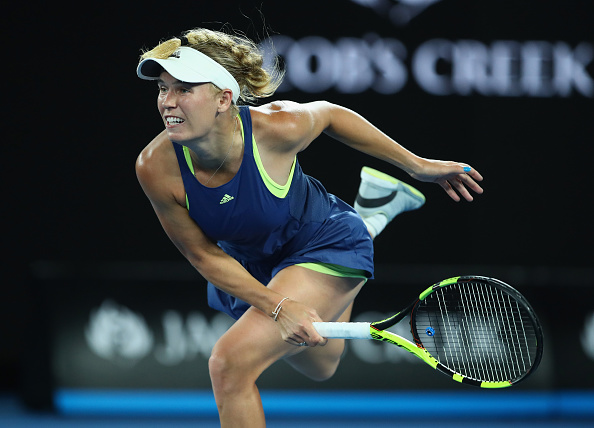Melbourne |  Wozniacki wins through late night thriller