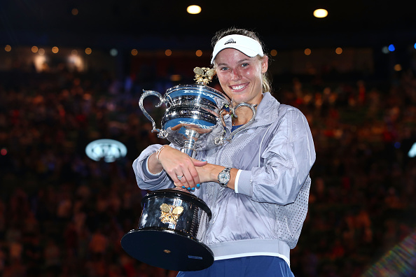 Melbourne | Woz wins maiden Grand Slam title!