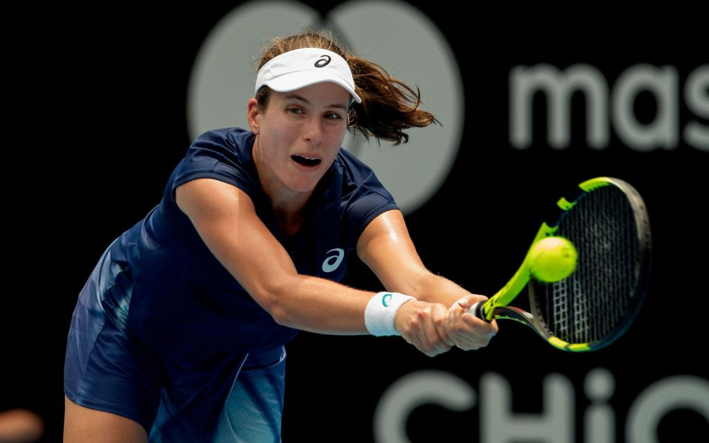 Sydney   Konta suffers opening round loss