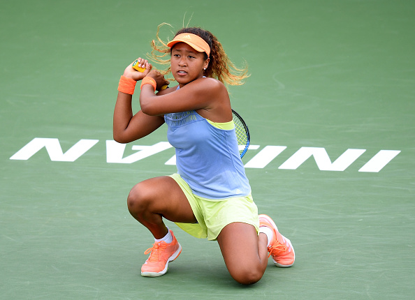 Indian Wells   Osaka taking centre stage
