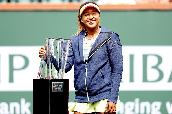 Indian Wells   Osaka claims first career title