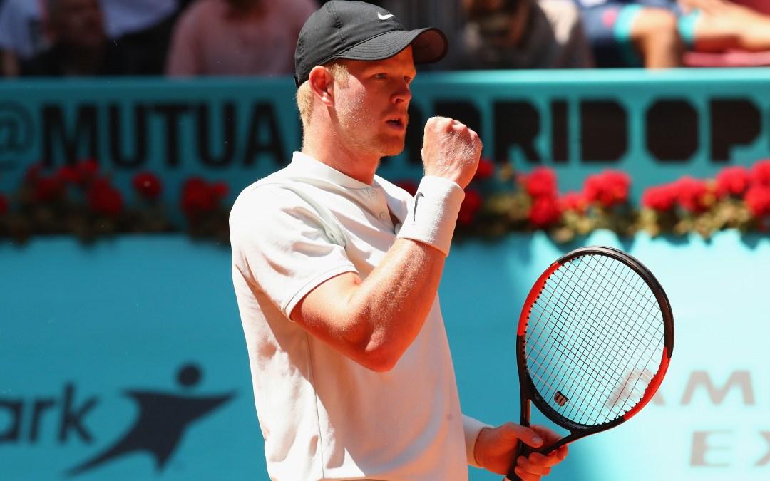 Madrid Open | Kyle Edmund beats David Goffin in last 16