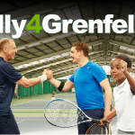 London | Tennis and sports stars unite to launch #Rally4Grenfell