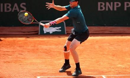 French Open | Jamie takes a break