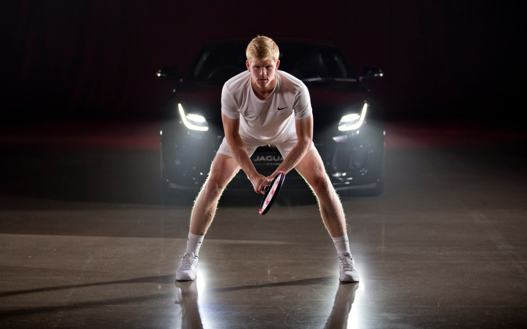 """London   Kyle Edmund tells Jaguar he is """"ready for pain"""" in his quest to be World No. 1"""