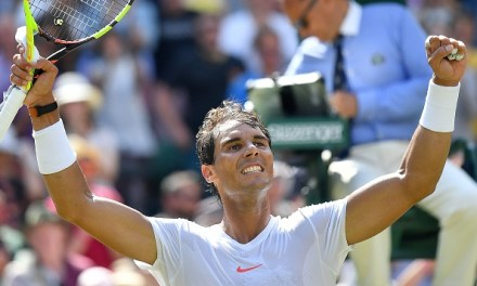 Wimbledon   Nadal hands out lesson