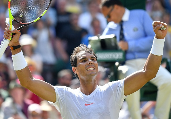 Wimbledon | Nadal hands out lesson
