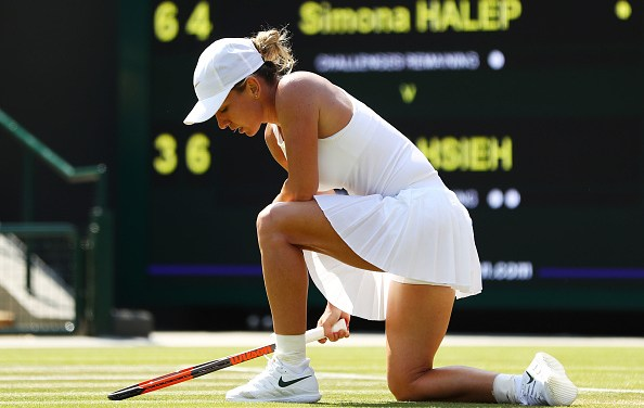 Wimbledon | Halep is knocked out