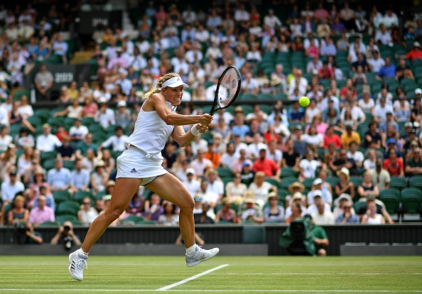 Wimbledon   Kerber becomes a contender