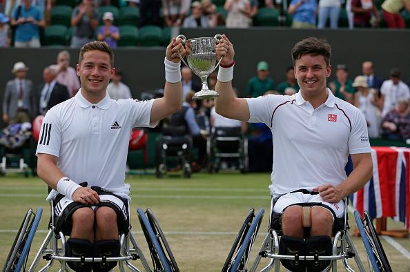 Wimbledon | Hewett and Reid complete Wimbledon wheelchair hatrick