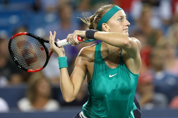Cincinnati    Kvitova ends Williams Cinci hopes