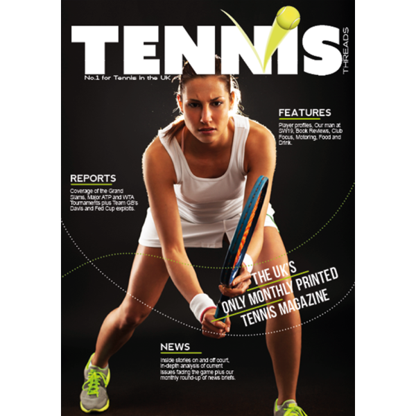 Tennis Magazine 12 Month Subscription