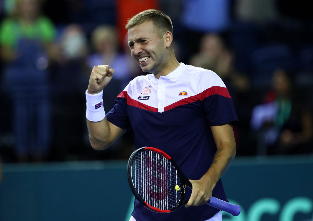 Glasgow | GB level in Davis Cup with Uzbekistan after Day 1