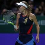 Singapore | Wozniacki and Kvitova both fall in openers