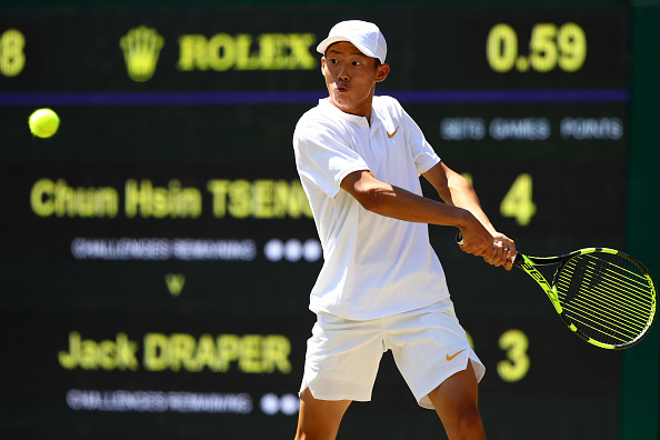 Buenos Aires | Tseng charges into YOG boys quarters