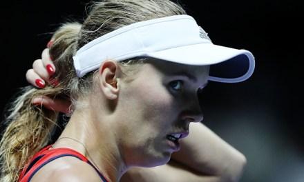 Singapore | Wozniacki out and then reveals diagnosis