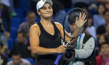 Zhuhia | Barty ends Goerges title defence