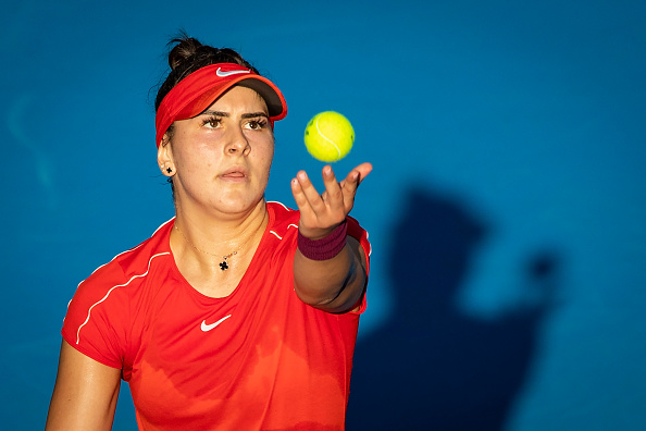 Auckland | Andreescu, the new rising star