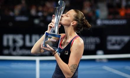 Brisbane | Pliskova recovers in time
