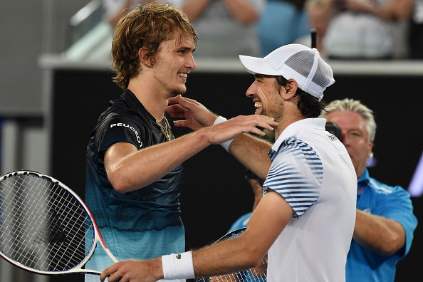 Melbourne   Zverev and Djokovic kept out late