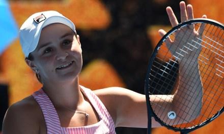 Melbourne   Brilliant Barty sees off Sharapova