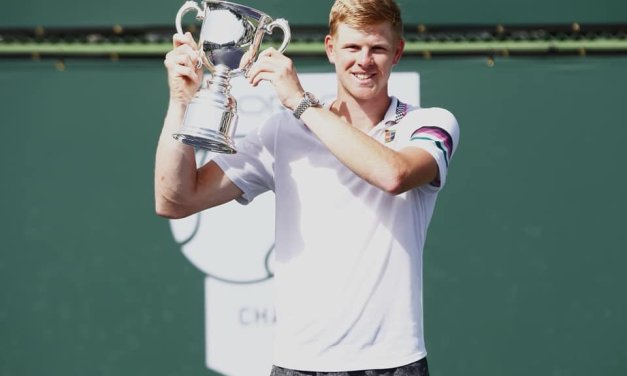 Indian Wells   Edmund wins Challenger