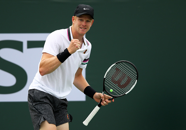 Indian Wells   Edmund eases into round three
