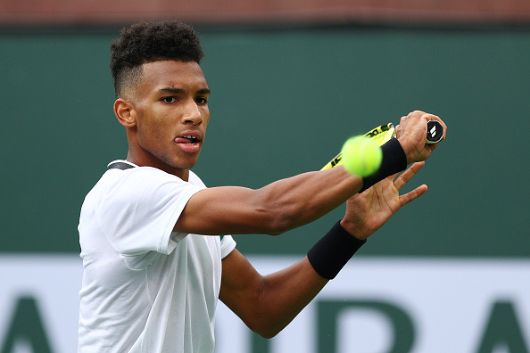Indian Wells   Auger-Aliassime is set for stardom