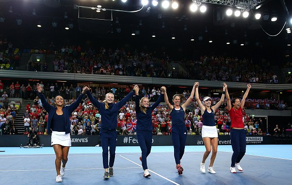 London |  Britain battle back from brink to seal Fed Cup promotion