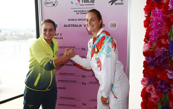 Sydney | Australia v Belarus as Fed Cup weekend gets under way