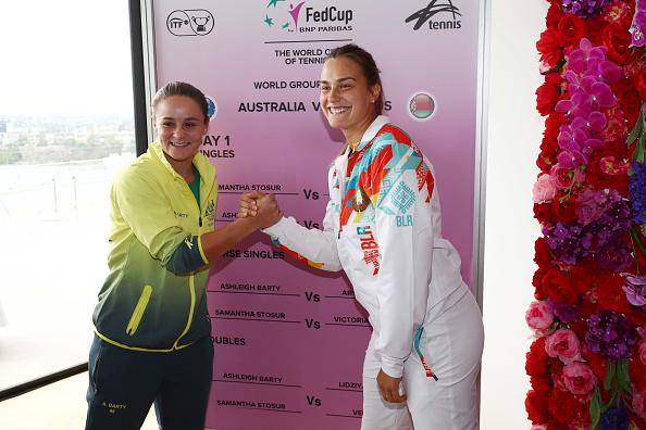 Sydney | Australia v Belarus as Fed Cup weekend gets under way