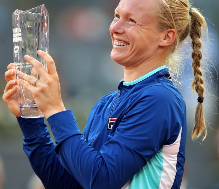 Madrid | The Ki-key to success: Bertens triumphs in Madrid behind clinical display