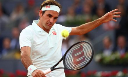 Madrid   Federer breezes through clay debut. Edmund loses against in-form Fognini
