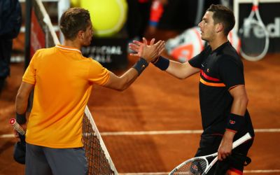 Rome   Norrie beaten by Coric, Zverev crashes out